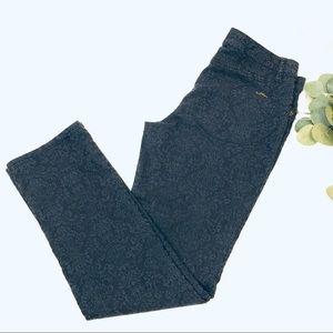 LAUREN Ralph Lauren damask modern straight jean